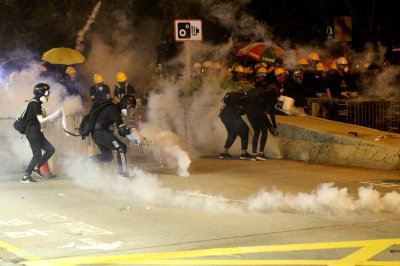 Chinese gov't concerned for growing Hong Kong protests
