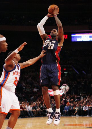 NBA: Cleveland 107, New York 102