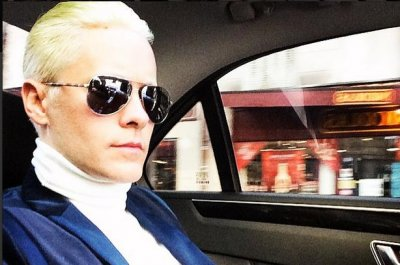 Jared Leto goes blond ahead of Joker role in 'Suicide Squad'
