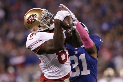 San Francisco 49ers' Anquan Boldin approaches a milestone