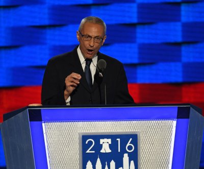 Clinton campaign chair Podesta urges Democrats to 'make history' in November