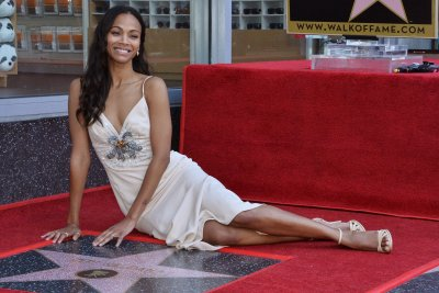 Zoe Saldana gets star on the Hollywood Walk of Fame