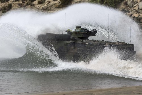 BAE to manufacture amphibious assault vehicles for Taiwan