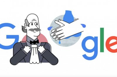 Google recognizes hand washing, Dr. Ignaz Semmelweis in Doodle