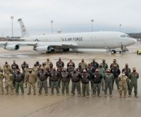 First all-Black crew flies JSTARS surveillance mission