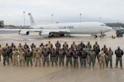 First all-Black crew flies JSTARS surveillance mission