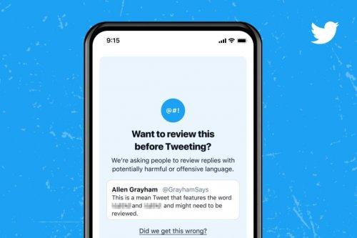 Twitter rolls out prompts to reconsider mean tweets