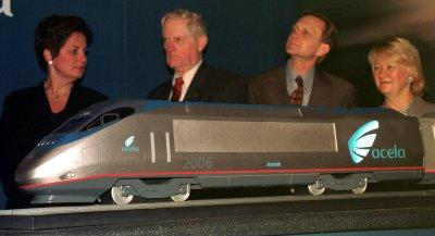 Kerry: Amtrak needs to make Acela faster