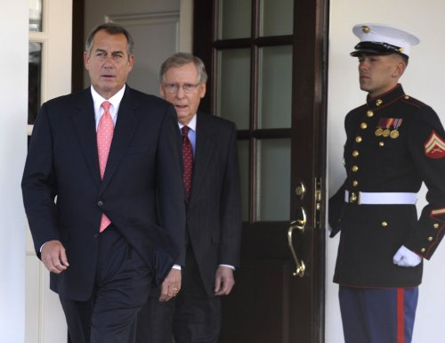 Dueling fiscal cliff-averting plans afloat