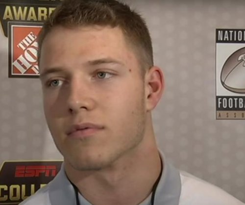 Stanford's McCaffrey receives player of the year award