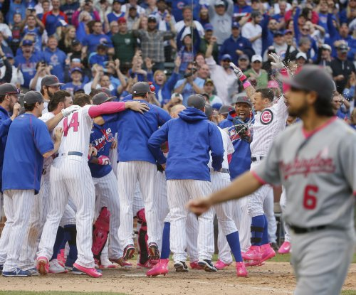 Red-hot Chicago Cubs complete sweep of Washington Nationals