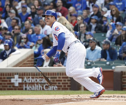 Chicago Cubs rally past Cincinnati Reds with Anthony Rizzo's HR, Kris Bryant's sac fly