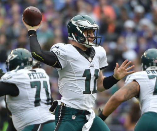 Carson Wentz passes Philadelphia Eagles past Cam Newton, Carolina Panthers