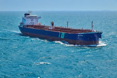 Tanker struck by 'external source' in Saudi Arabia, causing fire