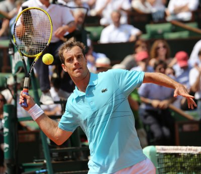 No. 9 Gasquet puts ranking on line at French tournament