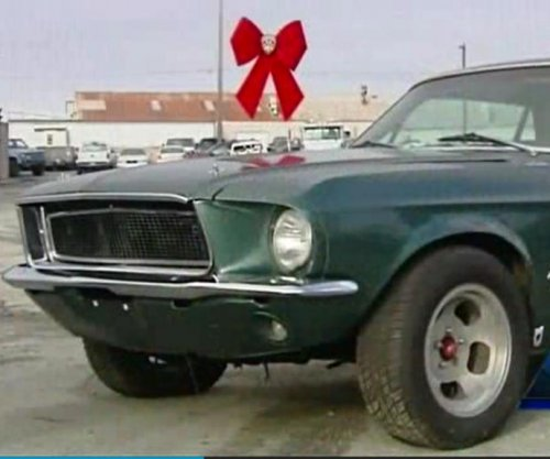 Woman's stolen Mustang returned 28 years later