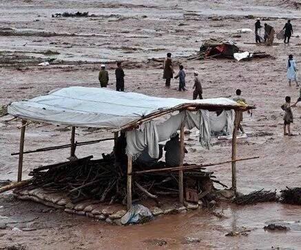 Pakistan flood death toll now 92 after 23 found buried in landslide