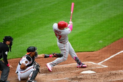 Mike Trout hits 425-foot bomb in Angels loss to Orioles