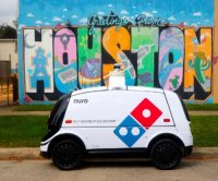 Domino's Pizza to test 'R2' self-driving delivery car in Houston