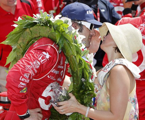 Franchitti wins third Indianapolis 500