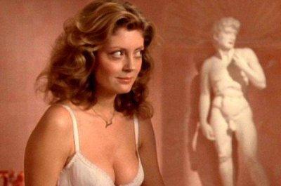 Susan Sarandon responds to Piers Morgan criticizing cleavage