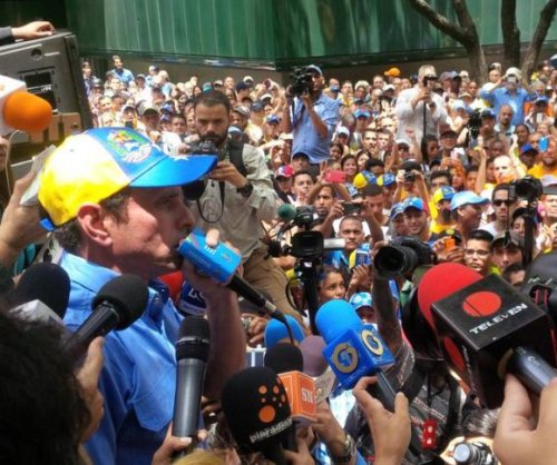 Venezuelan opposition protests Supreme Court protest ban