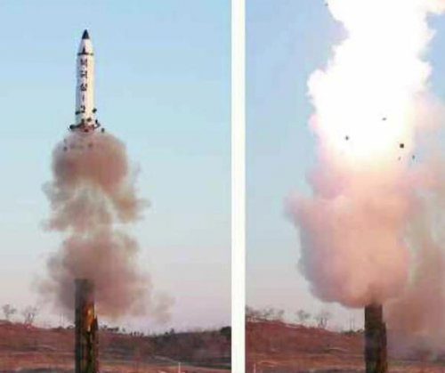 Report: Satellite image shows North Korea road mobile launcher