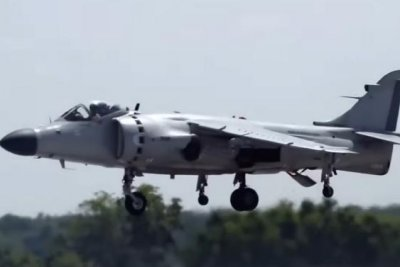 'World's fastest bourbon' to take flight in a Harrier jet during aging
