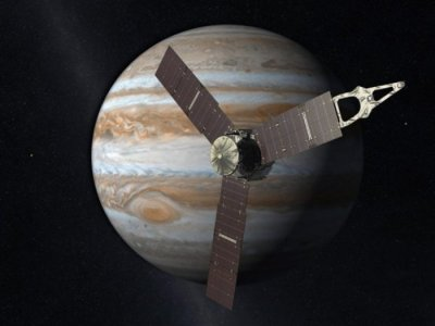 Fly-by of Earth to fling spacecraft toward Jupiter
