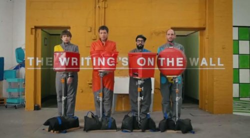 OK Go unveils another elaborate music video: 'The Writing's On the Wall'