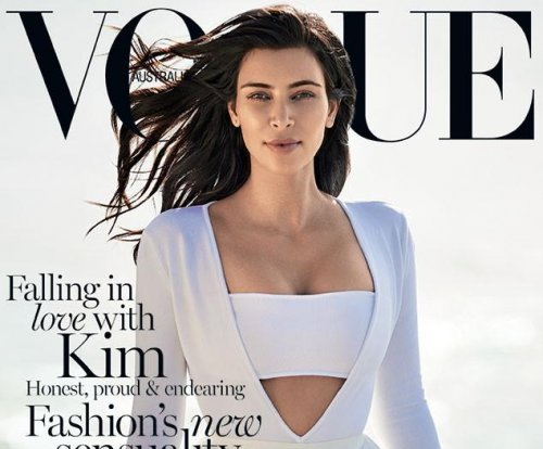 Kim Kardashian stuns with minimal makeup in Vogue Australia cover