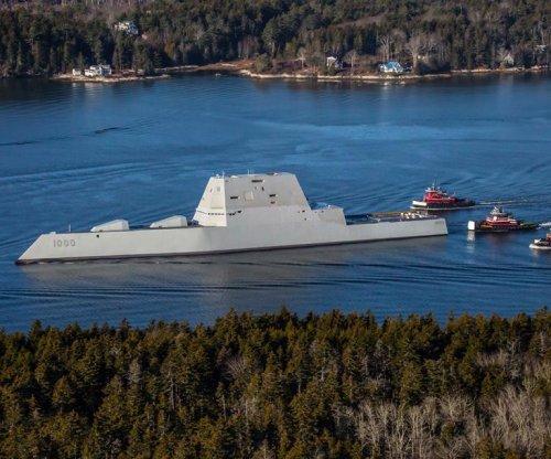 USS Zumwalt completes acceptance trials
