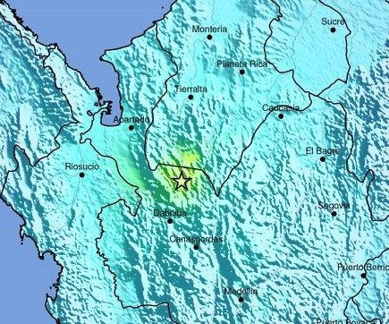 6.1-magnitude earthquake in Colombia causes no injuries, damage