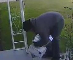California package thief gets box filled with dog poop