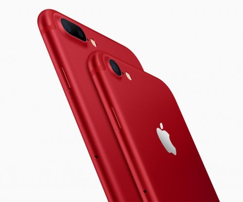 Apple unveils special-edition red iPhone 7