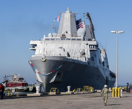 General Dynamics contracted for support of the USS Mesa Verde