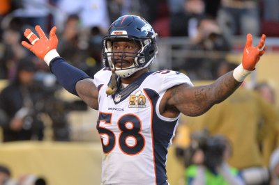 Broncos OLB Miller (ankle) expected to face Chiefs