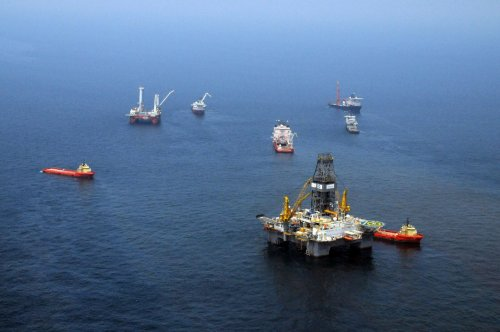 U.S. welcomes Chinese rig movement