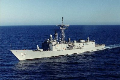 Navy decommissions last OHP-class frigate