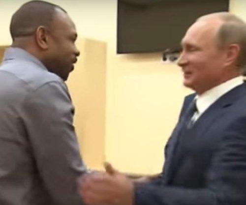 Former boxing champion Roy Jones Jr. asks Vladimir Putin for Russian citizenship