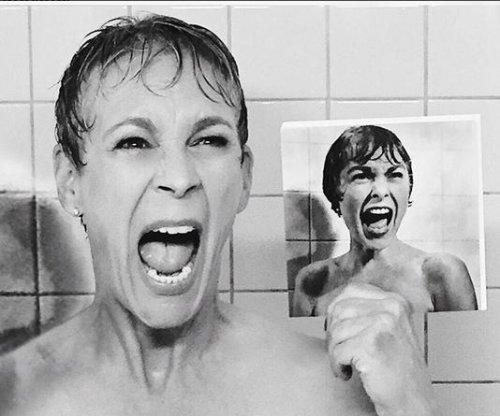 Jamie Lee Curtis recreates 'Psycho' scene for 'Scream Queens'