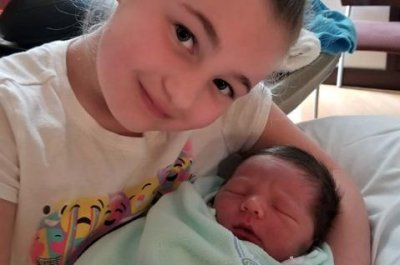 Amber Portwood's daughter holds baby James in new photo