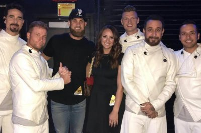 Bryce Harper gifts wife Backstreet Boys for birthday