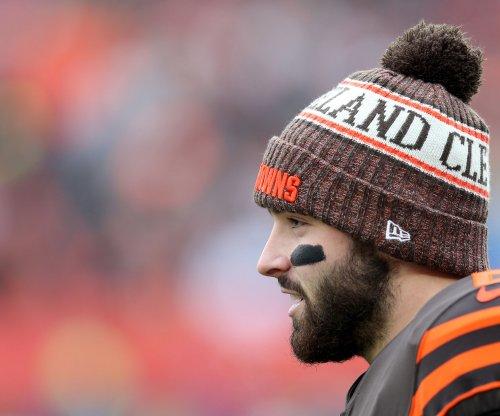 Browns' Baker Mayfield defends teammate Odell Beckham Jr., criticizes Giants fans