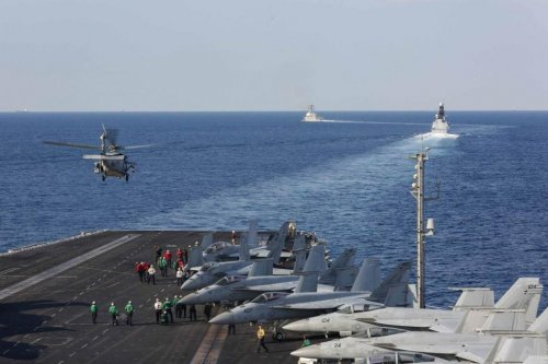 Lincoln Carrier Strike Group finishes scheduled transit into Persian Gulf