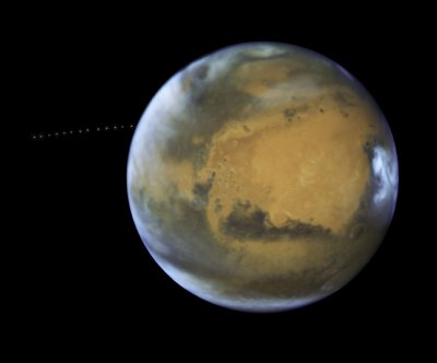 Study: Mars has four bodies of water underneath surface