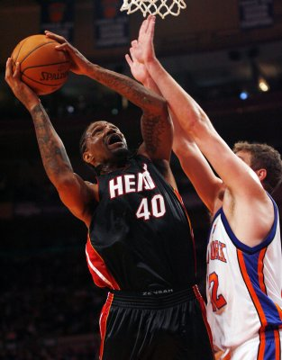 Heat's Haslem hit with drug charge