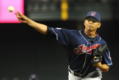 MLB suspends Indians' pitcher Carrasco 8 games for throwing at batter