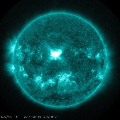 Solar storm makes its way toward Earth