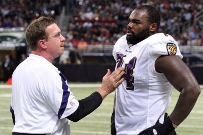 Carolina Panthers T Michael Oher in concussion protocol 5 months later